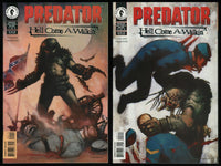 Predator Hell Come A-Walkin Comic Full set #1-2 Lot Dark Horse Dean Ormston art