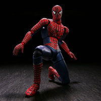 SpiderMan SCI-FI Revoltech Series No.039 Spider Man Action Figure 3D Model Kaiyodo