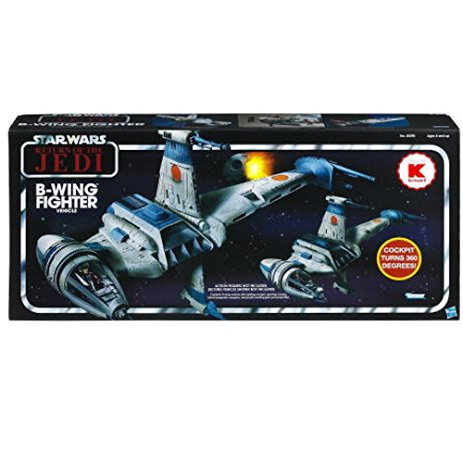 Star Wars Vintage Collection B-WING FIGHTER Vehicle KMart Excusive Kenner