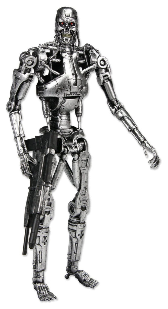 "The Terminator 7"" Action Figure T-800 Classic Endoskeleton in Windowbox Packaging NECA 39859A"