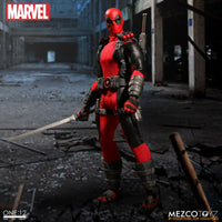 Dead Pool Exclusive Collector's Edition One: 12 Collective Mezco Toyz Action Figure Marvel  - 76450