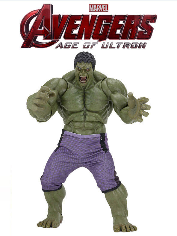 "Hulk - Avengers: Age of Ultron – 1/4 Scale Action Figure – 24"" Inches Tall - NECA 61416"