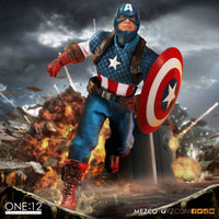 One: 12 Collective - Captain America - Action Figure - 1:12 Scale