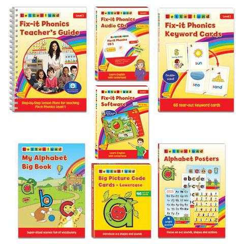 Fix-it Phonics - Level 1 - Teacher's Pack (2nd Edition)