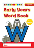 Early Years Word Book (pack of 10)