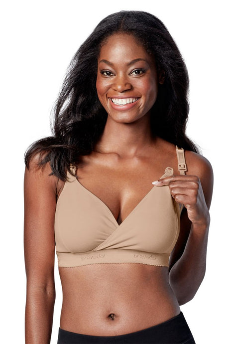Bravado Designs Original Nursing Bra - Plus - Butterscotch - Small+