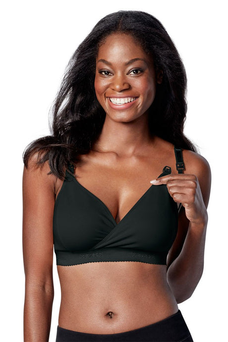Bravado Designs Original Nursing Bra - Plus - Black - XLarge+