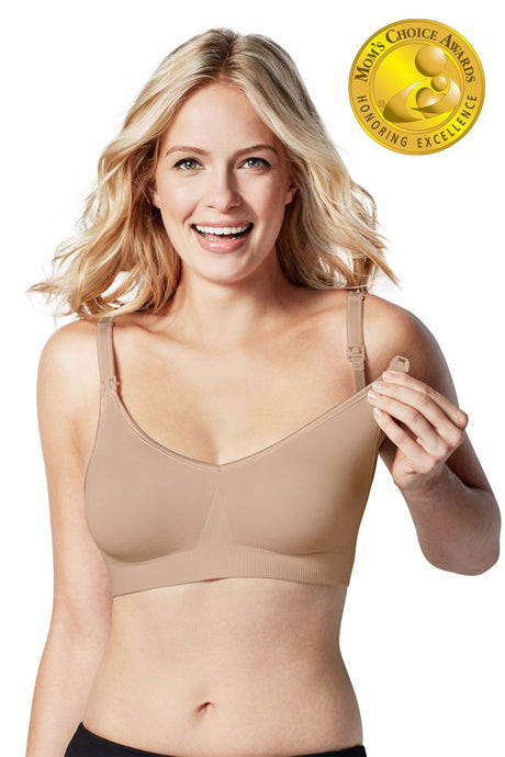 Bravado Designs Body Silk Seamless Nursing Bra - Butterscotch - S