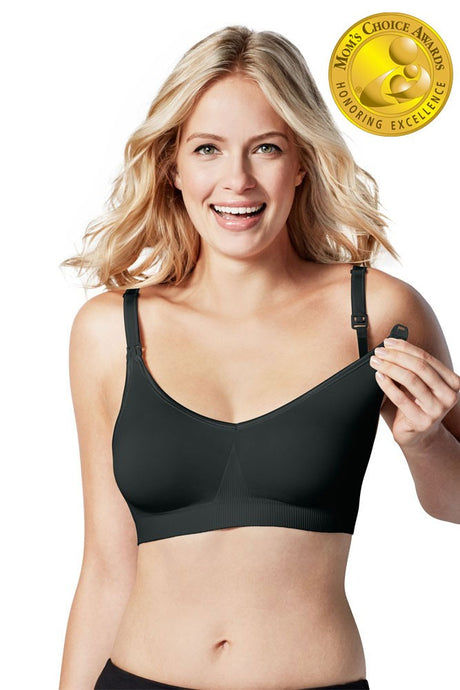 Bravado Designs Body Silk Seamless Nursing Bra - Black - M