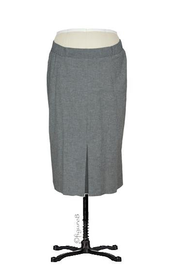 Audrey Maternity Pencil Skirt - Charcoal - Size XSmall