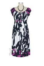 Olian Emily-Lee Maternity Dress - Floral Print- Size Small