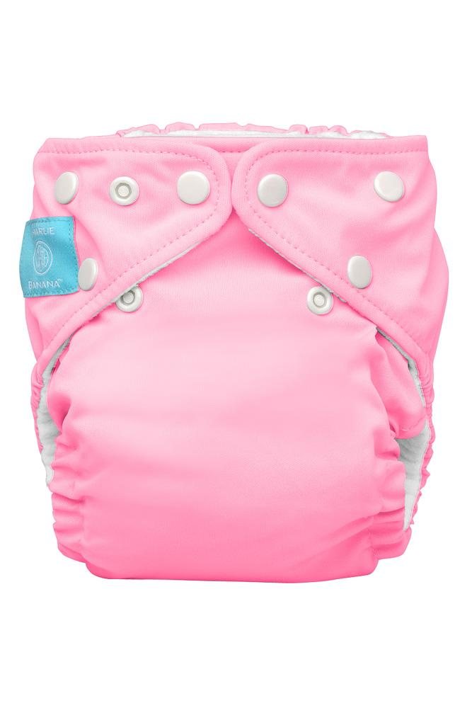 Charlie Banana® 2-in-1 One Size Reusable Diapers - Baby Pink - Large