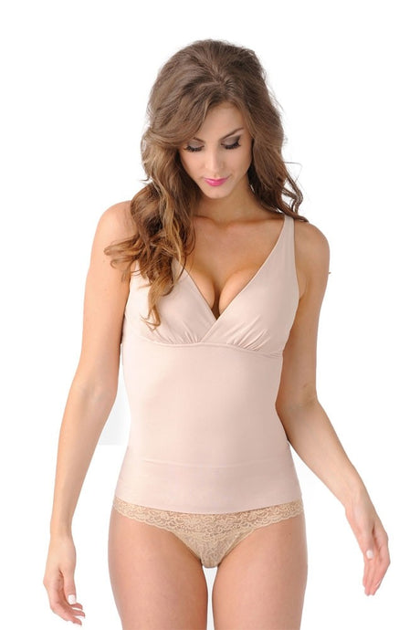 Mother Tucker® Compression Nursing Tank - Nude - M