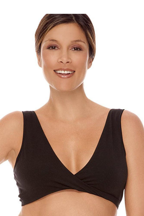 Lamaze Cotton Sleep Bra - Black - M