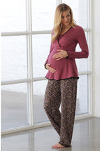 Majamas Margo Nursing PJ Set - Woodland - XXL