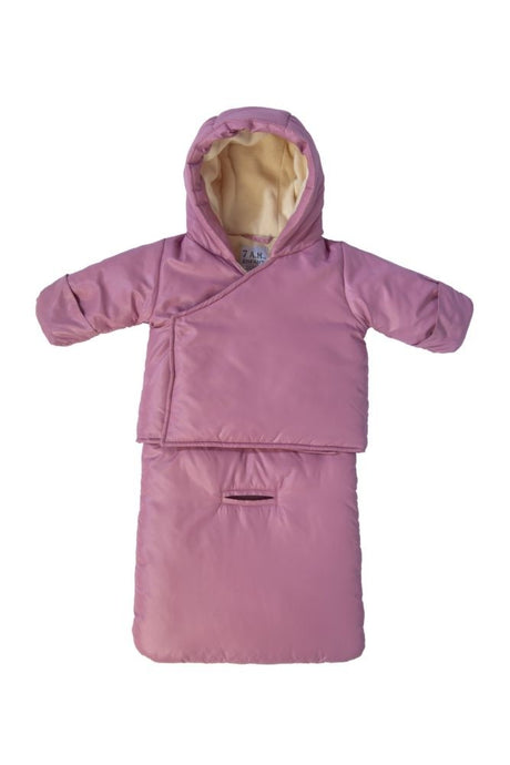 7 am Enfant Bag-O-Coat - Lilac - 3-6 months