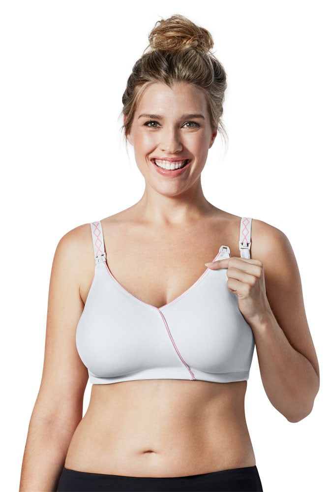 Bravado Designs Essential Embrace Nursing Bra - White Orchid - 40 H/I
