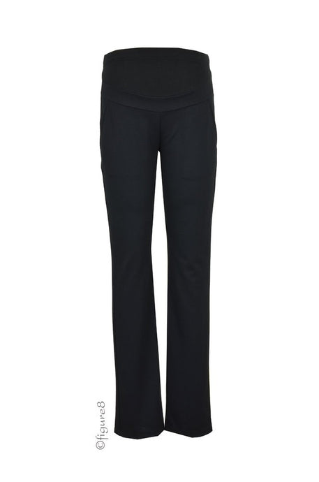 Maternal America Over Belly Skinny Trouser - Black - Size XS