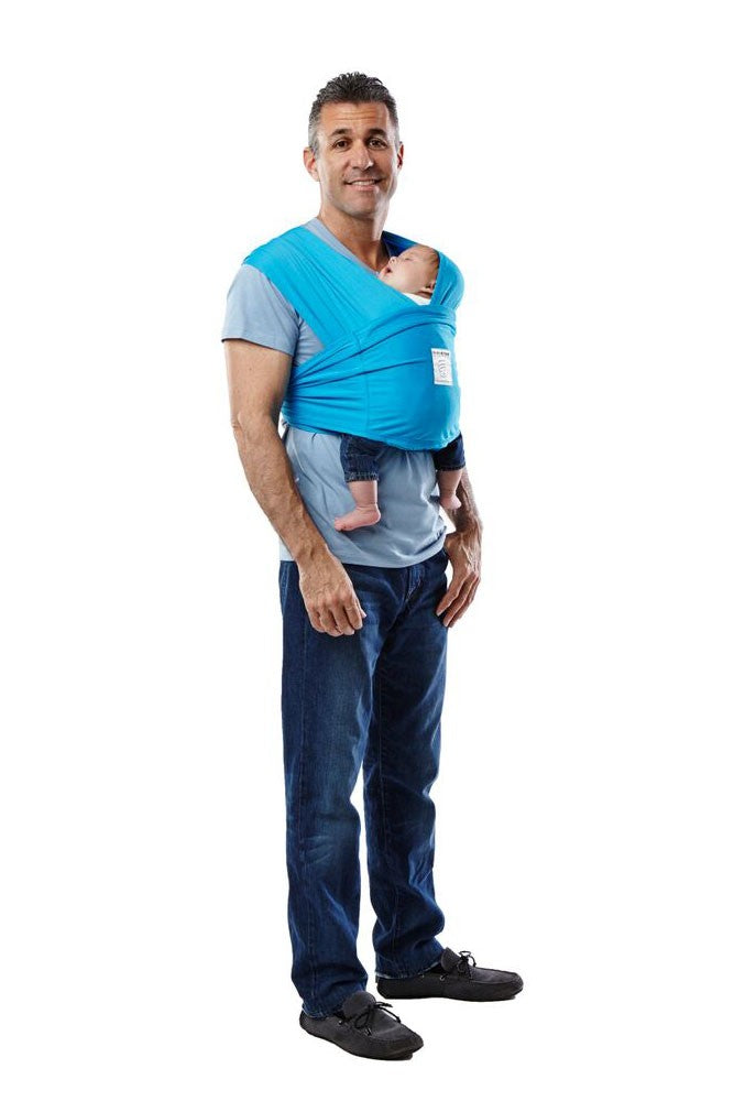 Baby K'tan Active Baby Carrier - Ocean Blue - S