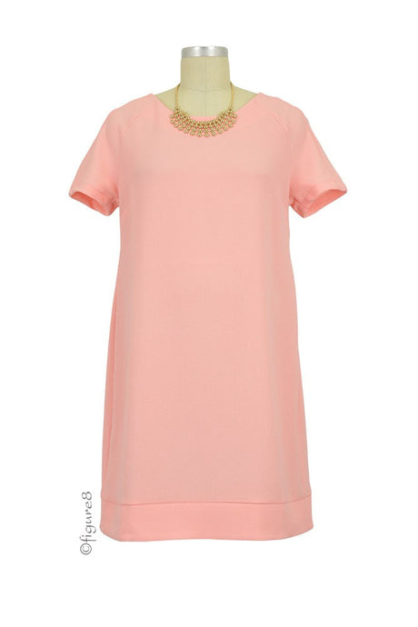 Alice Shift Maternity Dress - Cotton Candy - Size Large