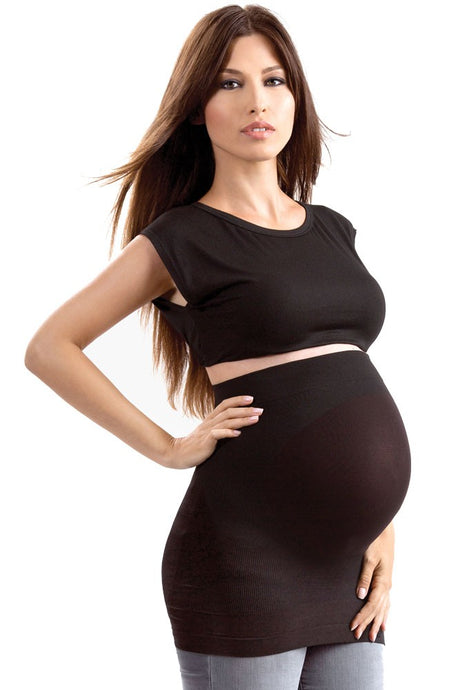 Blanqi Built-In Maternity Belly Support BellyBand - Deepest Black - L/XL