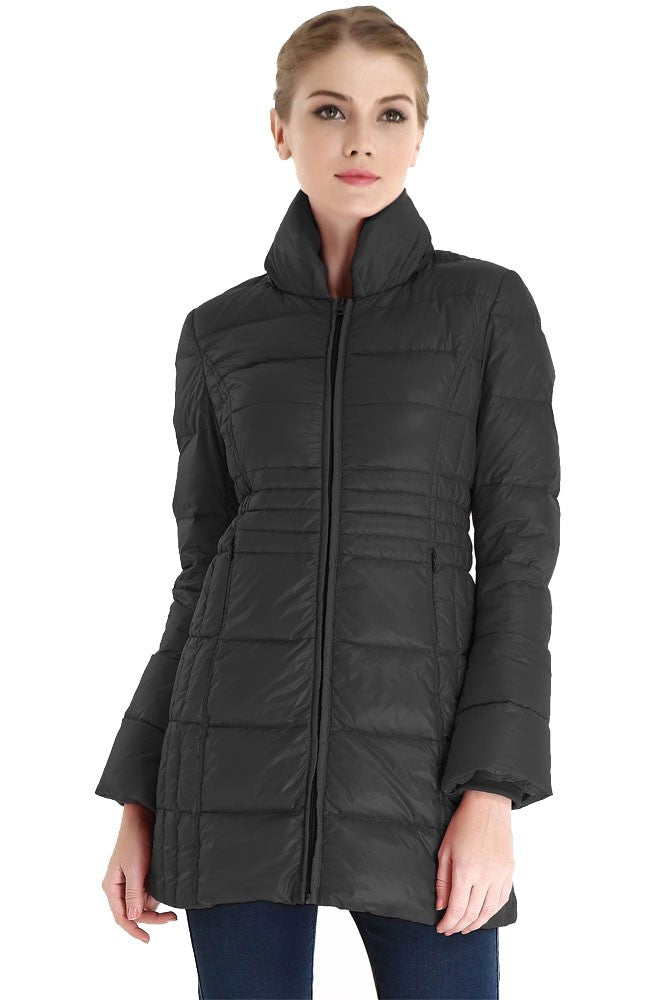 Bella 3-in-1 Down-Filled Mommy & Me Jacket by Spring Maternity - Black - L