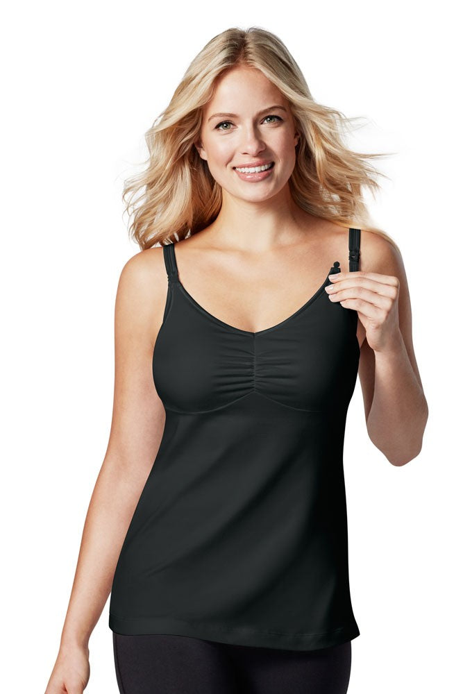 Bravado Designs Dream Maternity & Nursing Tank - Black - 34 B/C