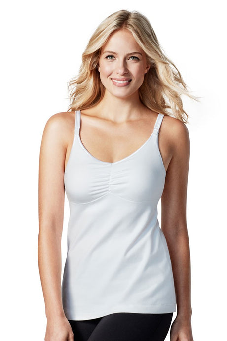 Bravado Designs Dream Maternity & Nursing Tank - White - 38 D/E