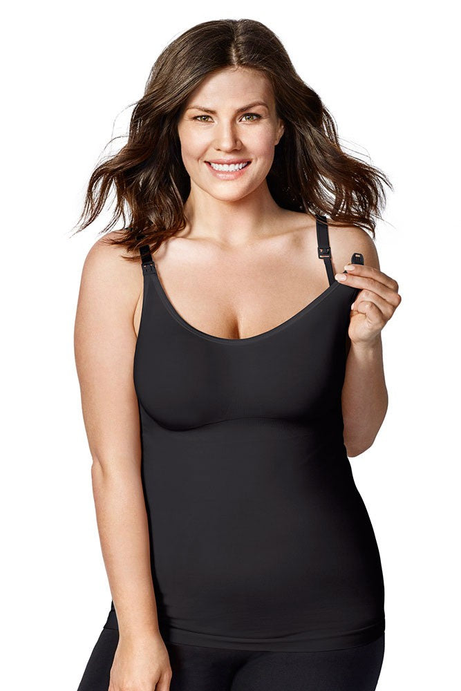c760d1ef662 Bravado Designs Body Silk Seamless Nursing Cami - Black - M – Figure ...