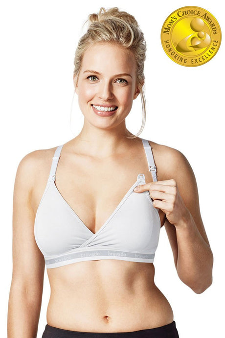 Bravado Designs Original Nursing Bra - White - S