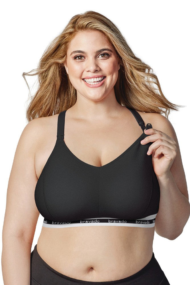 Bravado Designs Original Nursing Bra - Full Cup - Black - S