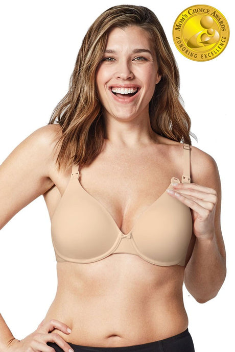 Bravado Designs Belle Underwire Maternity & Nursing Bra - Bare - 32D