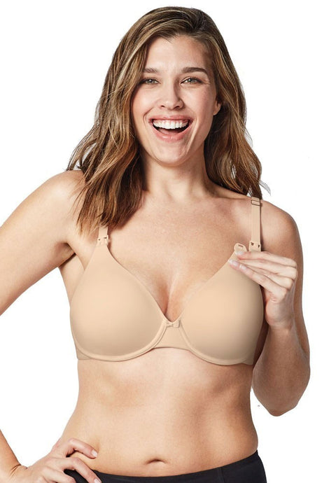 Bravado Designs Belle Underwire Maternity & Nursing Bra - Bare - 34H