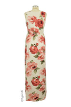Leona Floral Drop Waist Nursing Friendly Maxi Dress - Sand Floral - M