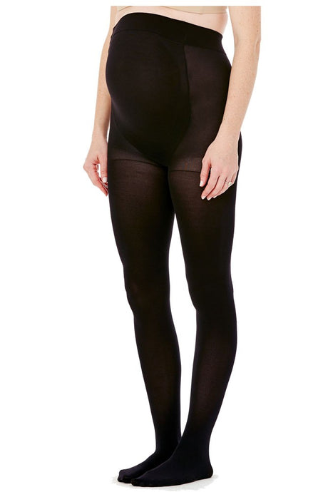 Ingrid & Isabel Opaque Maternity Tight - Black - S/M