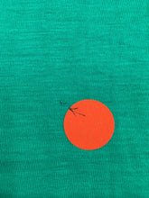 Everly Grey Abbey Maxi Maternity Dress - Portofino Green with Cream - Size Small