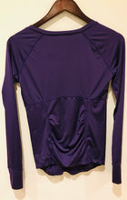 Ingrid & Isabel Long Sleeve Active Maternity Top - Royal Purple - M