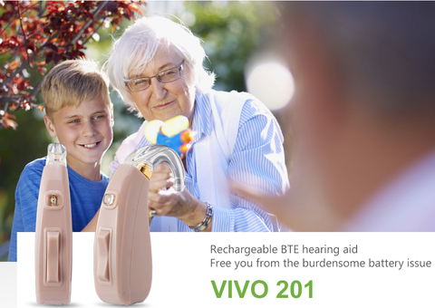 NewSound VIVO 201 Rechargeable Digital Hearing Aid
