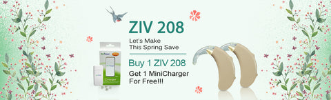 ZIV 208 Digital Hearing Aid