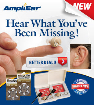 "Ampli Ear Hearing Amplifier Collection - ""Better"""