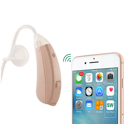 "NewSound App Controlled ""Refurbished"" Digital Hearing Aid"