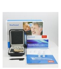 NewSound ZIV 208 Digital Hearing Aid with Free Charger & Batteries