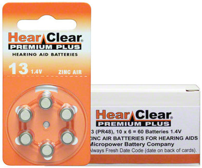 A13 Hearing Aid Replacement Batteries