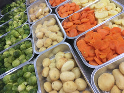 Cooked Vegetables 10 Portions