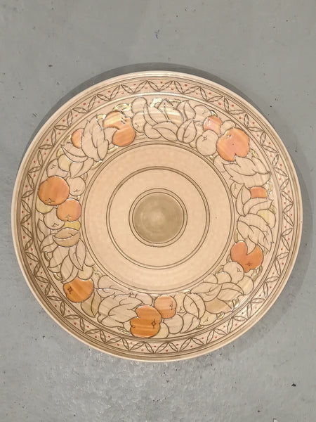 Charlotte Rhead art deco 36cm large wall charger