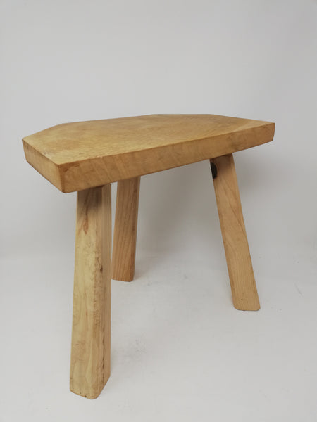 Traditional 3 legged wooden milking stool. Price includes UK postage and packing.