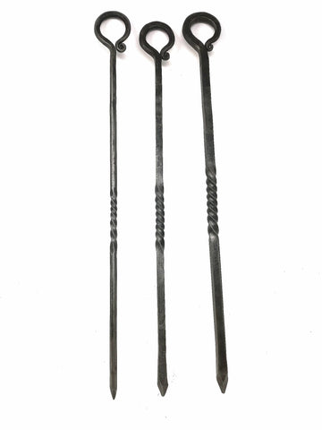 Standard shepherds crook pokers in a choice of thickness