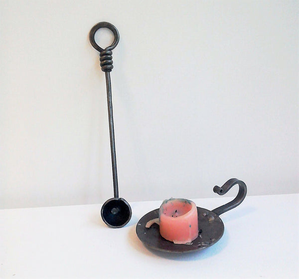 Hand forged candle snuffer