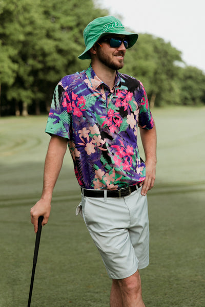 Hawaiian Friday Golf Polo Shirt