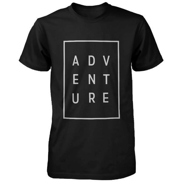 Adventure Men's Trendy Typographic T-Shirt